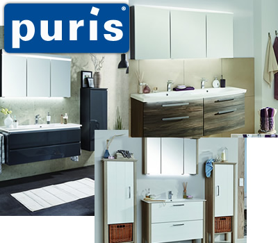 puris bad gmbh co kg pr sentiert die neuen serien. Black Bedroom Furniture Sets. Home Design Ideas