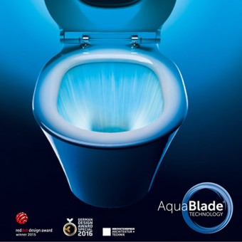 Idealstandard AquaBlade Connect Air WC mit SoftClose-Sitz