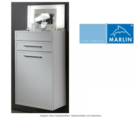 Marlin badm bel als set loop mit spiegelschrank und for Schminkschrank mit spiegel