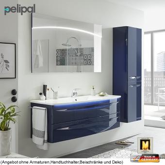 Pelipal Solitaire 9020 Badmöbel als Set 140 cm mit Flächenspiegel