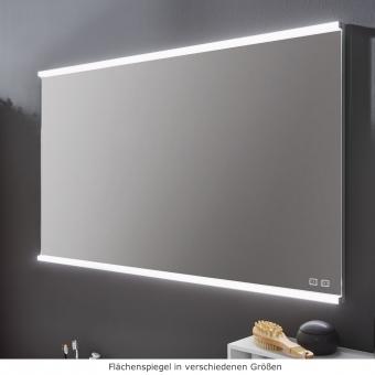 Kera Plan Badspiegel mit Spiegelheizung in verschiedenen Größen 60 - 120 cm