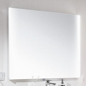 Kera Plan Badspiegel mit Emotion Beleuchtung links und rechts in verschiedenen Größen 40 - 140 cm
