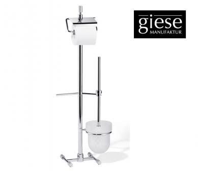 Giese WC-Ständer mit Bürsten-Garnitur und Ersatzpapierhalter