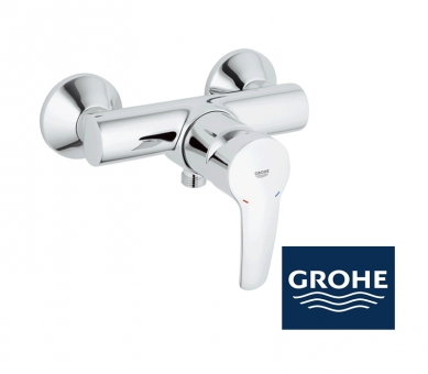 grohe eurostyle duscharmatur in chrom impulsbad. Black Bedroom Furniture Sets. Home Design Ideas