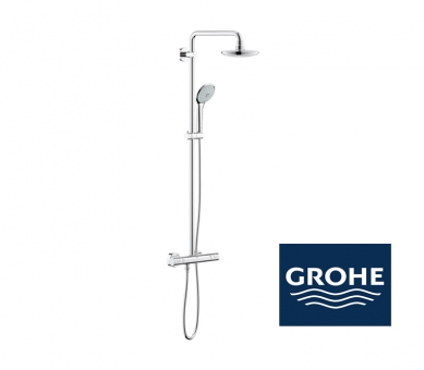 grohe euphoria system 180 duschsystem mit. Black Bedroom Furniture Sets. Home Design Ideas