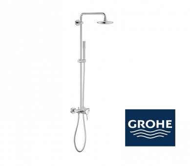 grohe euphoria concetto system 180 duschsystem mit. Black Bedroom Furniture Sets. Home Design Ideas