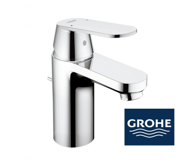 grohe eurosmart cosmopolitan waschtischarmatur in chrom. Black Bedroom Furniture Sets. Home Design Ideas