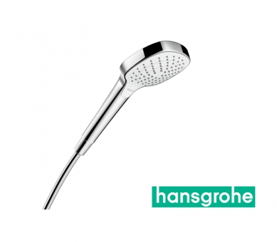 hansgrohe croma select e vario handbrause in wei chrom impulsbad. Black Bedroom Furniture Sets. Home Design Ideas