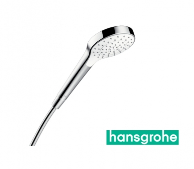 hansgrohe Croma Select S 1jet Handbrause in weiß/chrom
