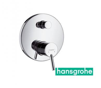 hansgrohe talis s einhebel wannenarmatur unterputz in chrom impulsbad. Black Bedroom Furniture Sets. Home Design Ideas