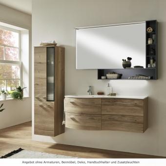 Marlin 3280 Badmöbel Set 120 cm mit Spiegel