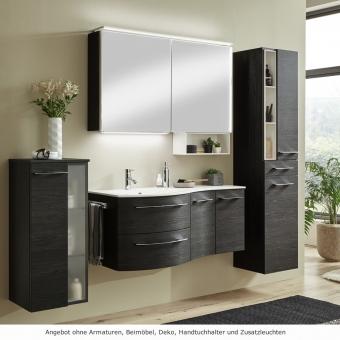 Marlin 3280 Badmöbel Set 120 cm mit Spiegelschrank