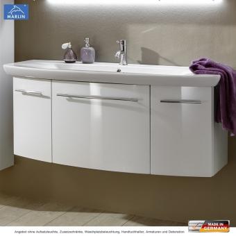 Marlin 3040 city plus waschtischset 120 cm mit waschtisch for Waschtisch mit unterschrank 120 cm