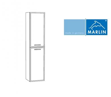 marlin badm bel hochschrank mit w schekippe 40 cm impulsbad. Black Bedroom Furniture Sets. Home Design Ideas