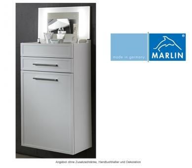 Marlin badm bel schminkschrank 40 cm mit spiegel impulsbad for Schminkschrank mit spiegel