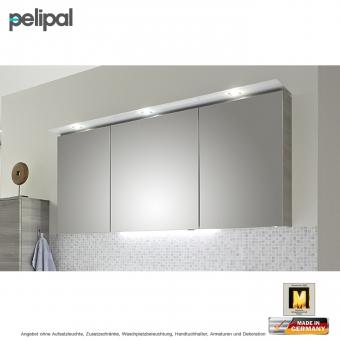 pelipal solitaire 7005 spiegelschrank mit led kranz 150 cm impulsbad. Black Bedroom Furniture Sets. Home Design Ideas