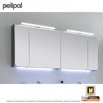 pelipal solitaire 7020 spiegelschrank 170 cm in rahmenoptik impulsbad. Black Bedroom Furniture Sets. Home Design Ideas