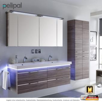 pelipal badm bel als set balto v3 3 mit spiegelschrank und doppelwaschtisch 148 cm impulsbad. Black Bedroom Furniture Sets. Home Design Ideas