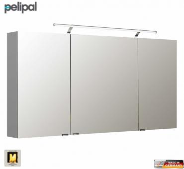 pelipal neutraler spiegelschrank s5 140 cm mit led. Black Bedroom Furniture Sets. Home Design Ideas