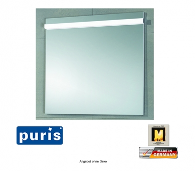 Puris Ace Badspiegel mit LED Belechtung 100 cm