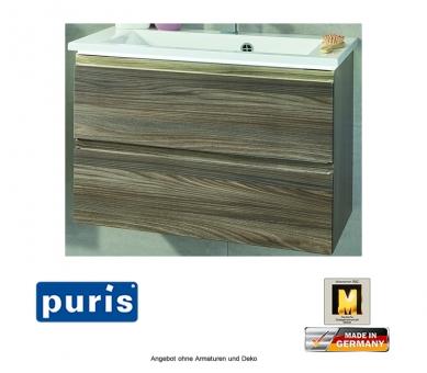 Puris Ace Waschtisch Set optional mit LED Beleuchtung 72 cm