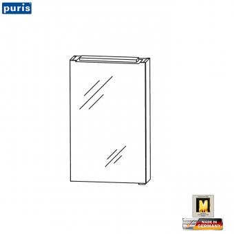 puris for guests spiegelschrank 40 cm mit aufsatzleuchte impulsbad. Black Bedroom Furniture Sets. Home Design Ideas