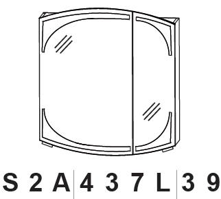 Puris Classic Line Spiegelschrank mit LED Beleuchtung 70 cm