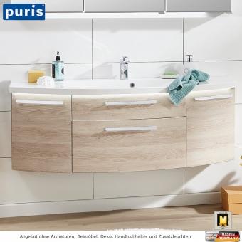Puris Vuelta Waschtisch Set 141 cm