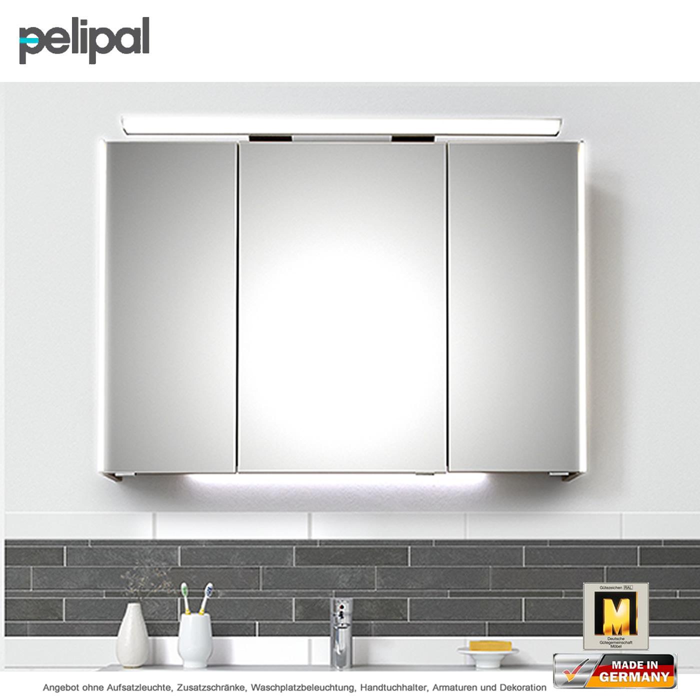 Pelipal Solitaire 9005 Spiegelschrank 100 Cm Mit Seitlicher Led