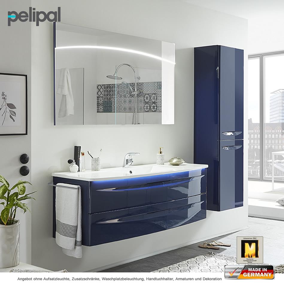 pelipal solitaire 9020 badm bel als set 140 cm mit fl chenspiegel impulsbad. Black Bedroom Furniture Sets. Home Design Ideas