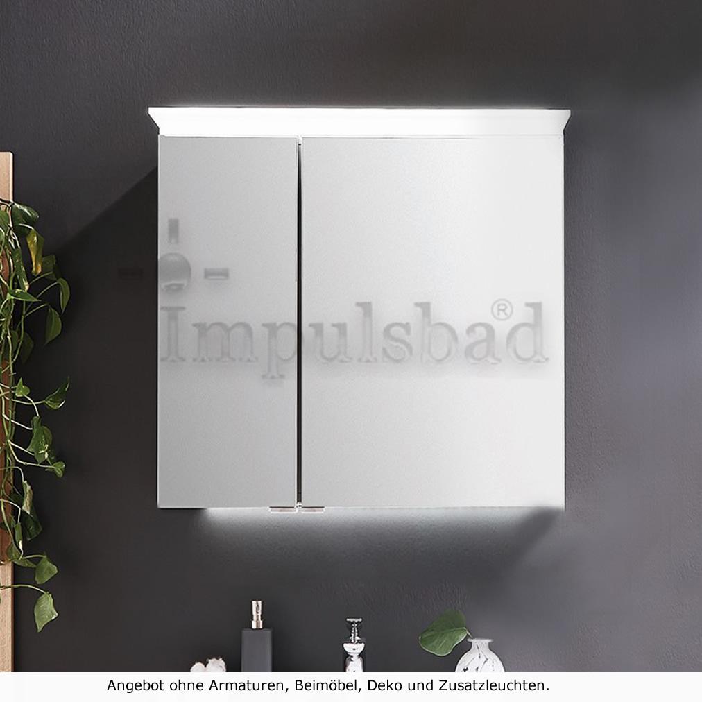 Sehr Puris Cool Line Spiegelschrank 60 cm - Serie B | Impulsbad TO52