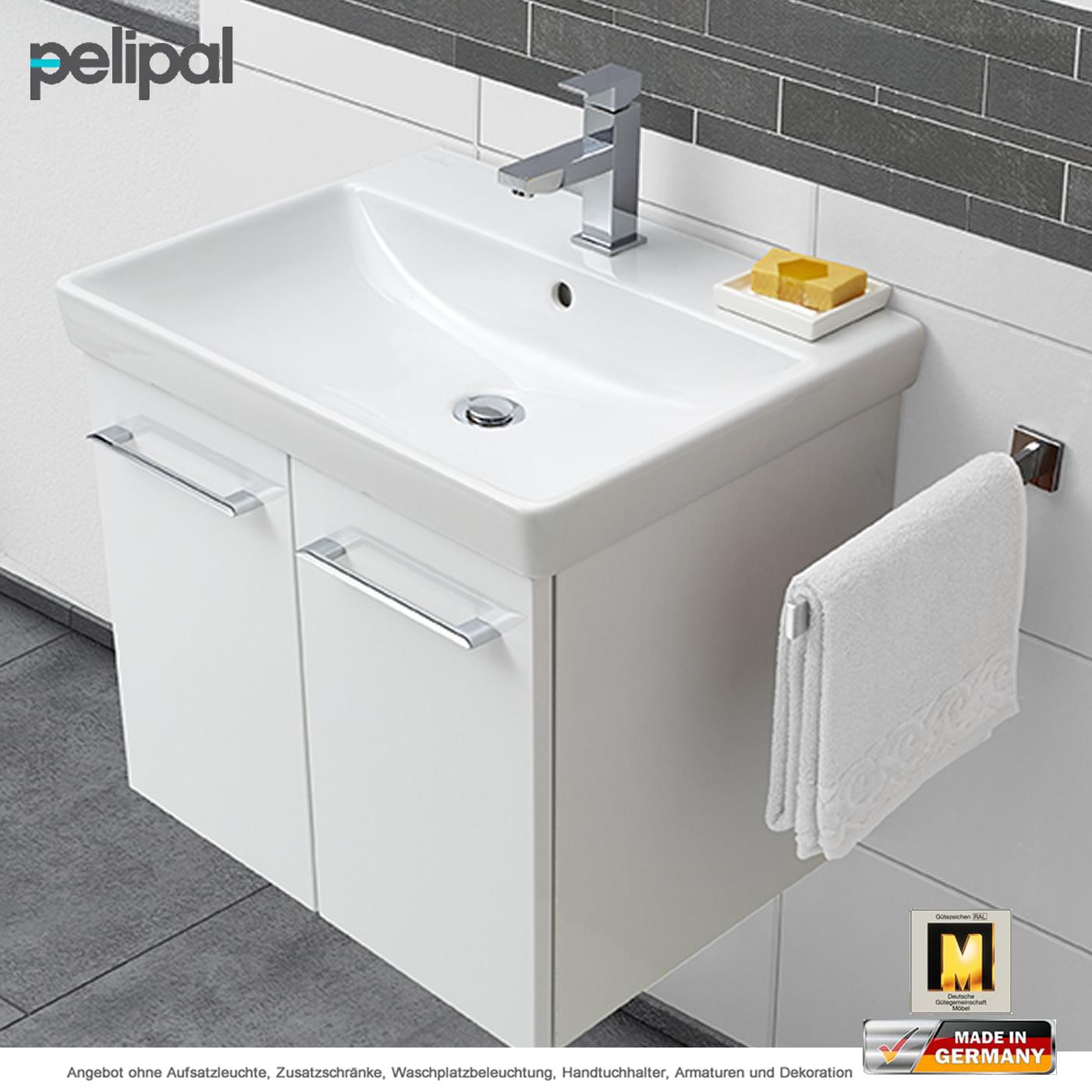 Pelipal Solitaire 9005 Waschtischset 60 Cm Keramag Mit 2 Turen