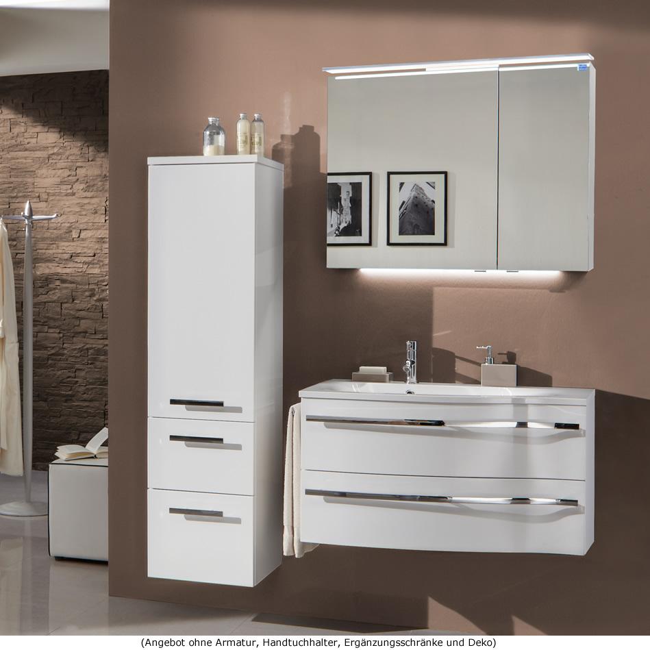marlin badm bel als set motion mit spiegelschrank und aufsatzleuchte 90 cm r impulsbad. Black Bedroom Furniture Sets. Home Design Ideas