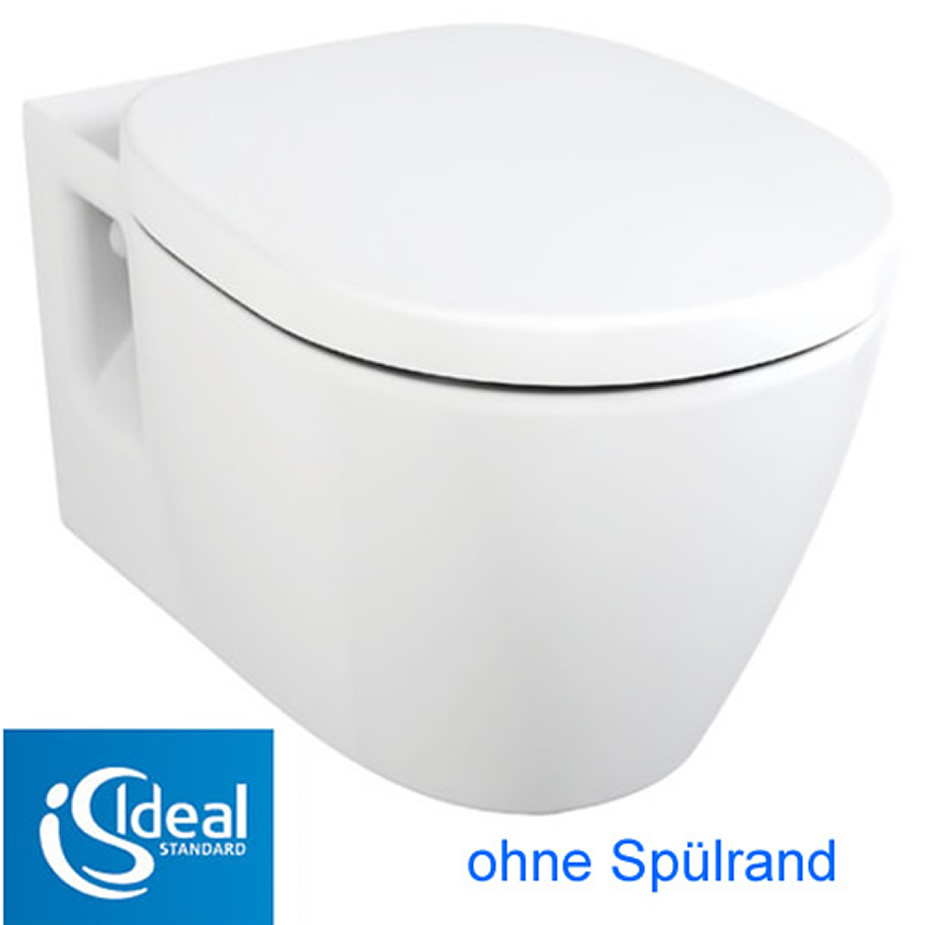 Idealstandard connect wc ohne idealplus impulsbad for Lunette wc ideal standard