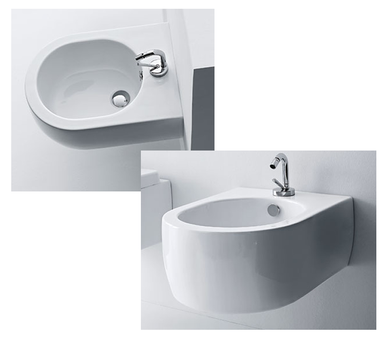 flero benina design wand bidet aus italien impulsbad. Black Bedroom Furniture Sets. Home Design Ideas