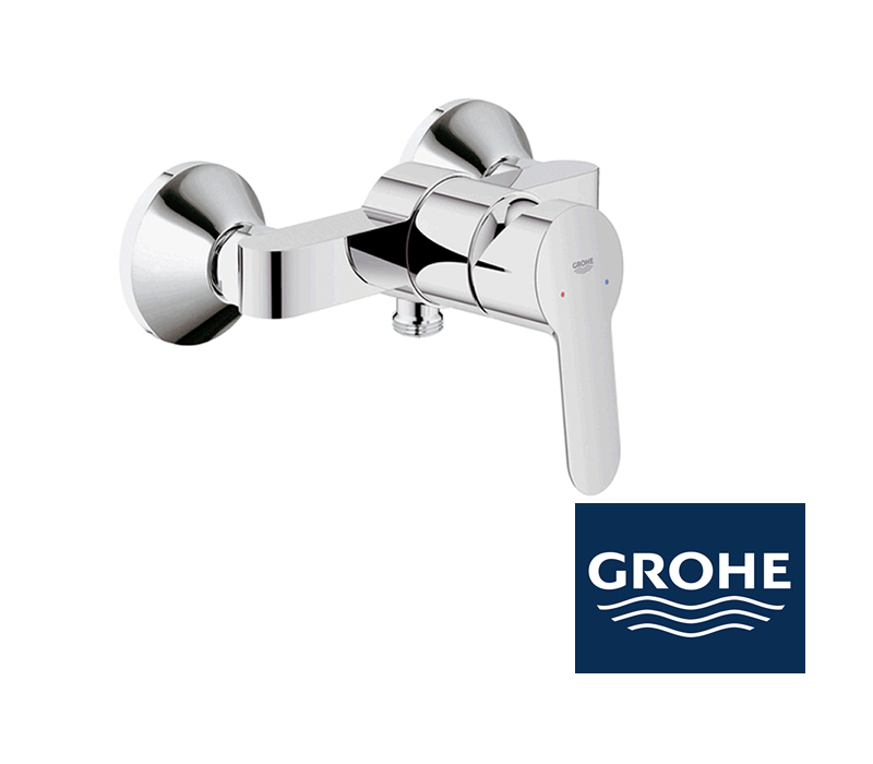 grohe bauedge duscharmatur in chrom impulsbad. Black Bedroom Furniture Sets. Home Design Ideas