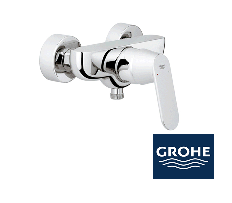 grohe eurosmart cosmopolitan duscharmatur in chrom impulsbad. Black Bedroom Furniture Sets. Home Design Ideas