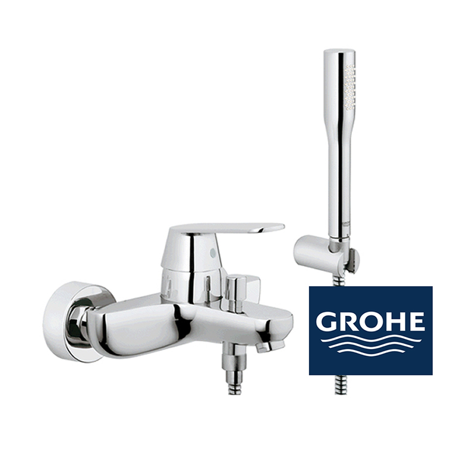 grohe eurosmart cosmopolitan wannenarmatur in chrom. Black Bedroom Furniture Sets. Home Design Ideas