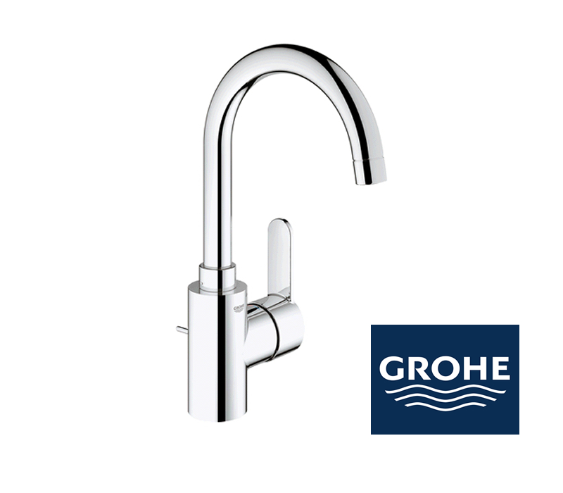 grohe eurostyle cosmopolitan waschtischarmatur in chrom. Black Bedroom Furniture Sets. Home Design Ideas
