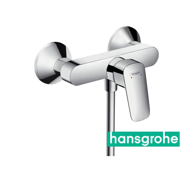 hansgrohe logis einhebel duscharmatur aufputz in chrom impulsbad. Black Bedroom Furniture Sets. Home Design Ideas