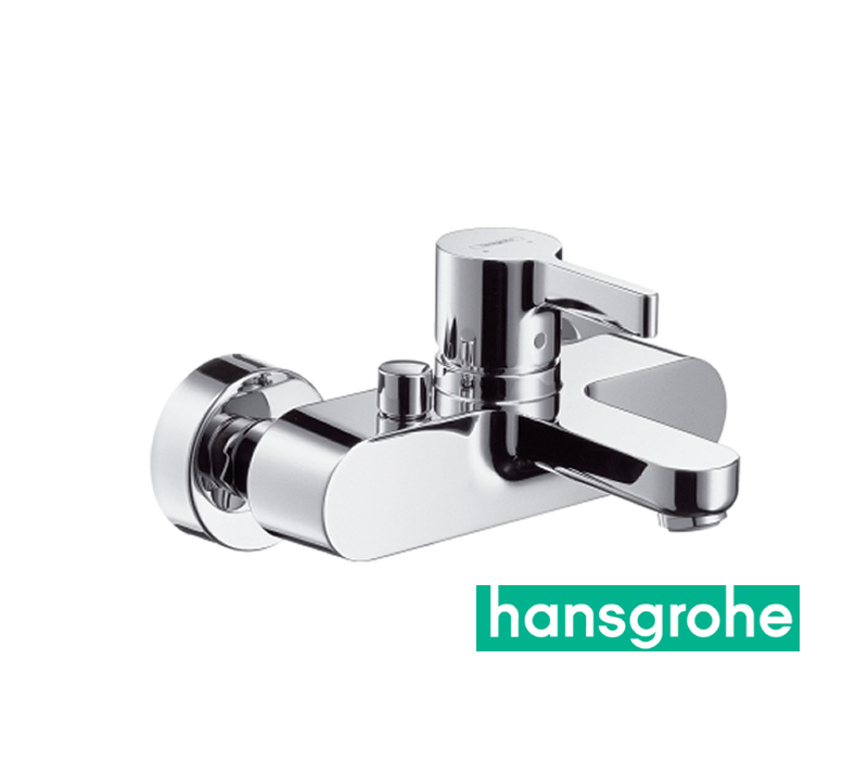 hansgrohe metris s einhebel wannenarmatur aufputz in chrom impulsbad. Black Bedroom Furniture Sets. Home Design Ideas