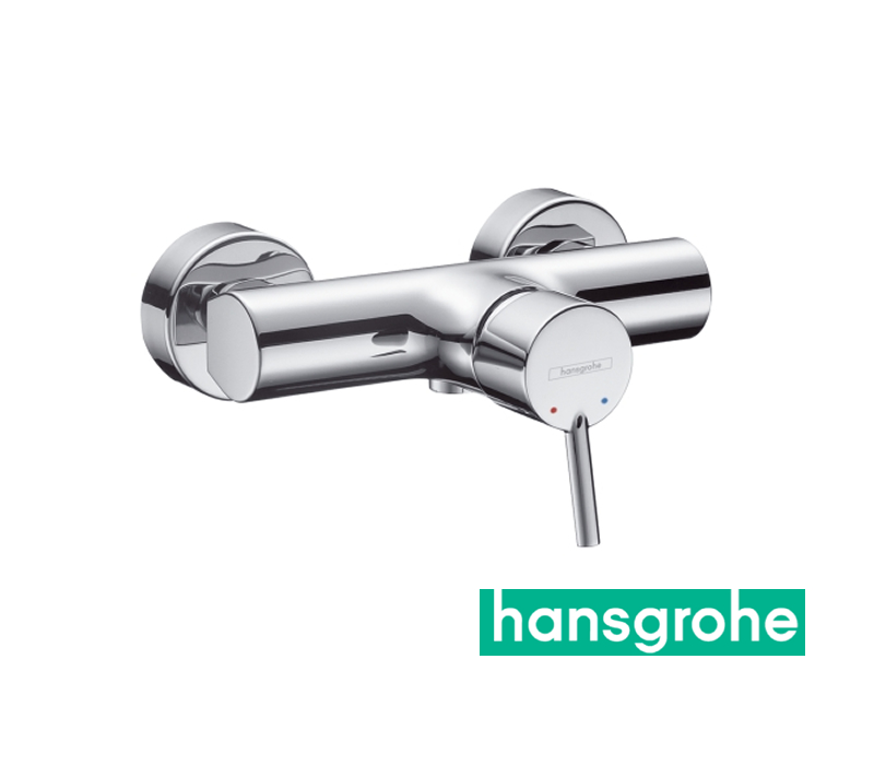 hansgrohe talis s einhebel duscharmatur aufputz in chrom. Black Bedroom Furniture Sets. Home Design Ideas