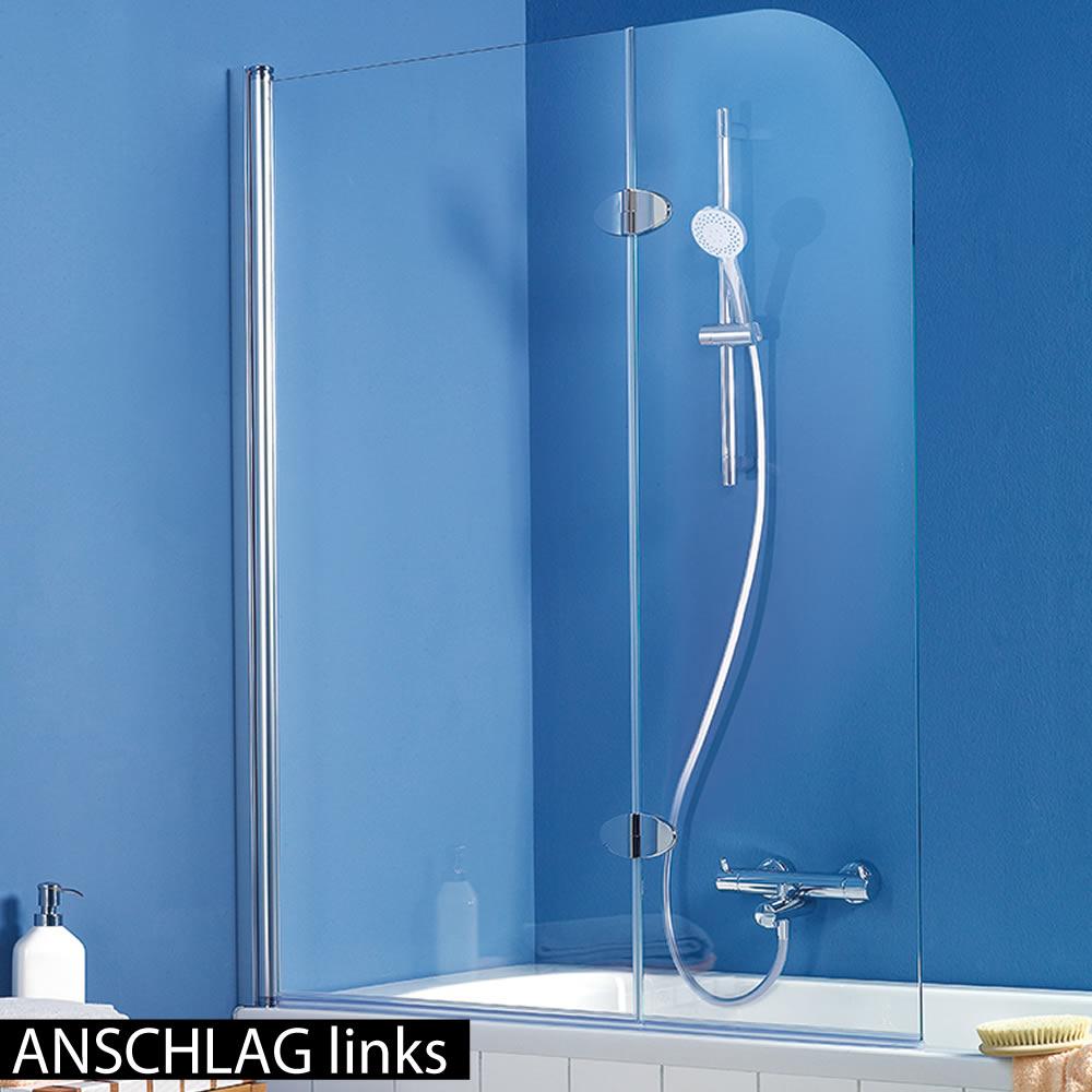 hsk exklusiv badewanennaufsatz 2 teilig 140 cm h he. Black Bedroom Furniture Sets. Home Design Ideas