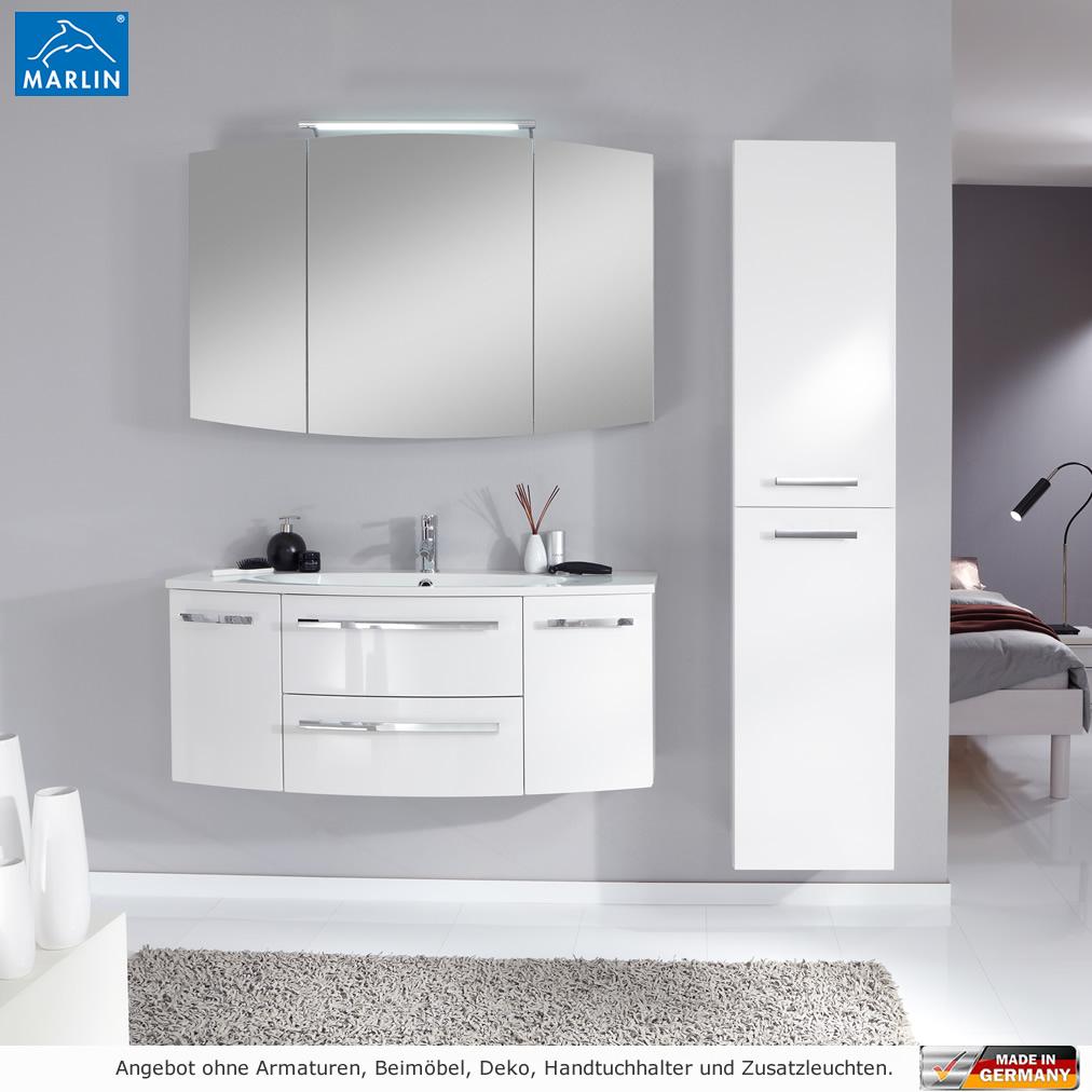 badmöbel 120 cm marlin badm bel als set scala mit spiegelschrank 120 cm