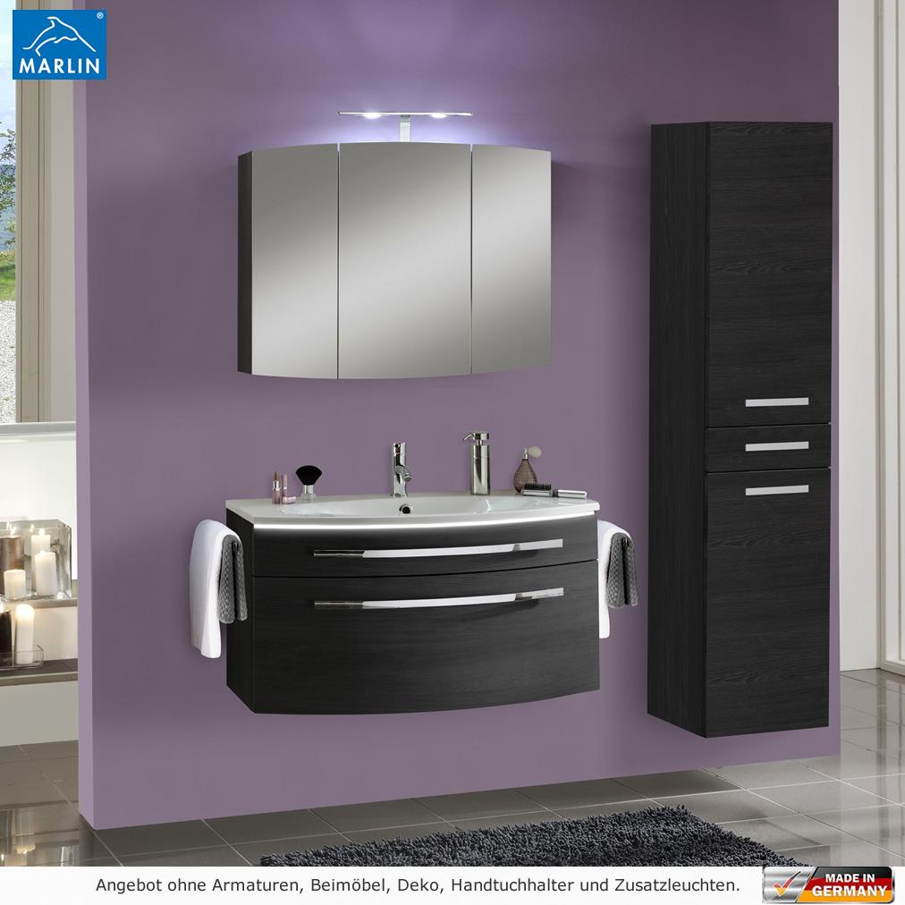 marlin badm bel als set scala mit spiegelschrank 90 cm impulsbad. Black Bedroom Furniture Sets. Home Design Ideas