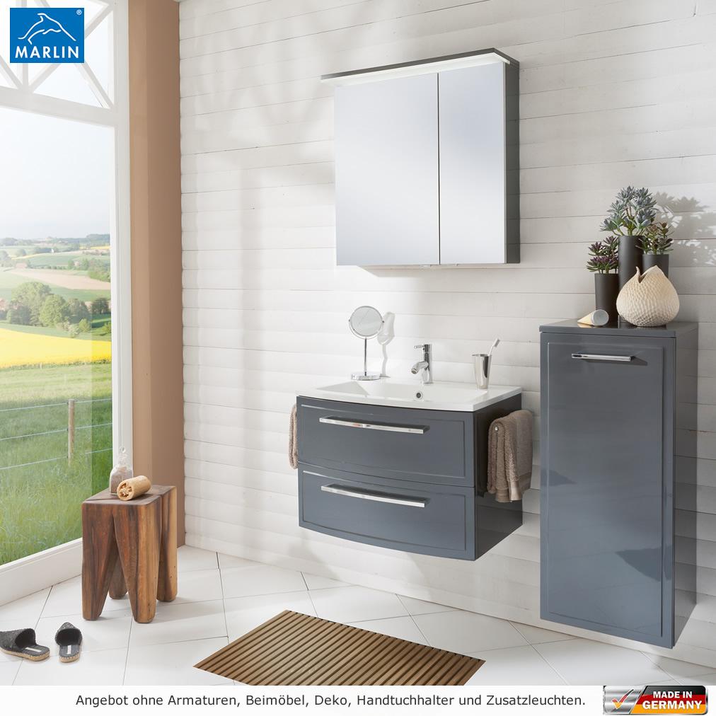 marlin badm bel als set joice mit spiegelschrank 70 cm impulsbad. Black Bedroom Furniture Sets. Home Design Ideas