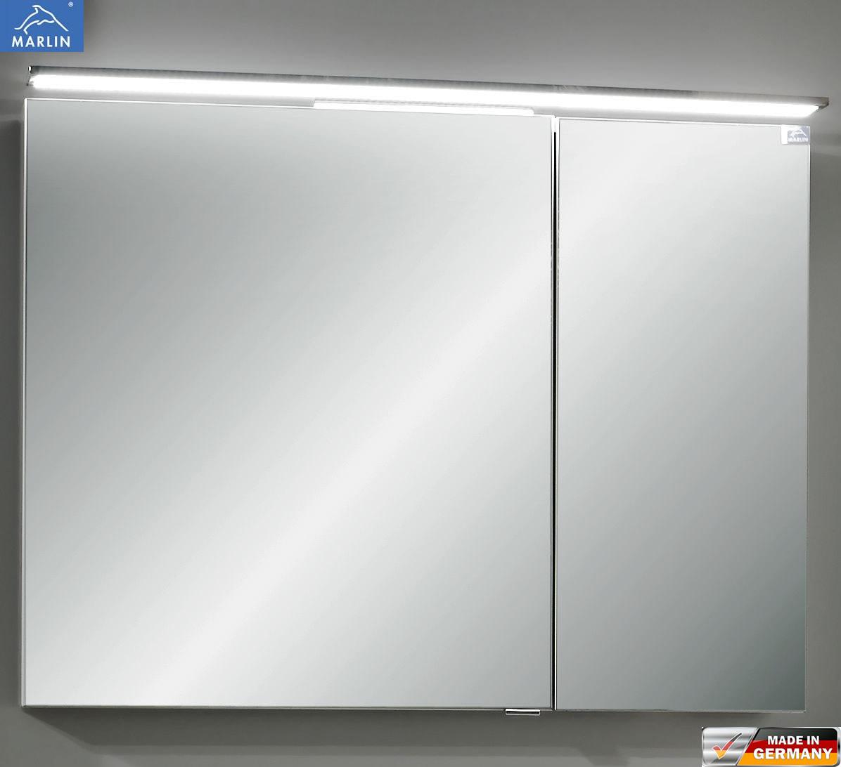 marlin cosmo spiegelschrank mit led aufsatzleuche 90 cm impulsbad. Black Bedroom Furniture Sets. Home Design Ideas