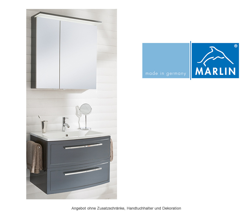 marlin badm bel als set joice mit spiegelschrank 70 cm impulsbad. Black Bedroom Furniture Sets. Home Design Ideas
