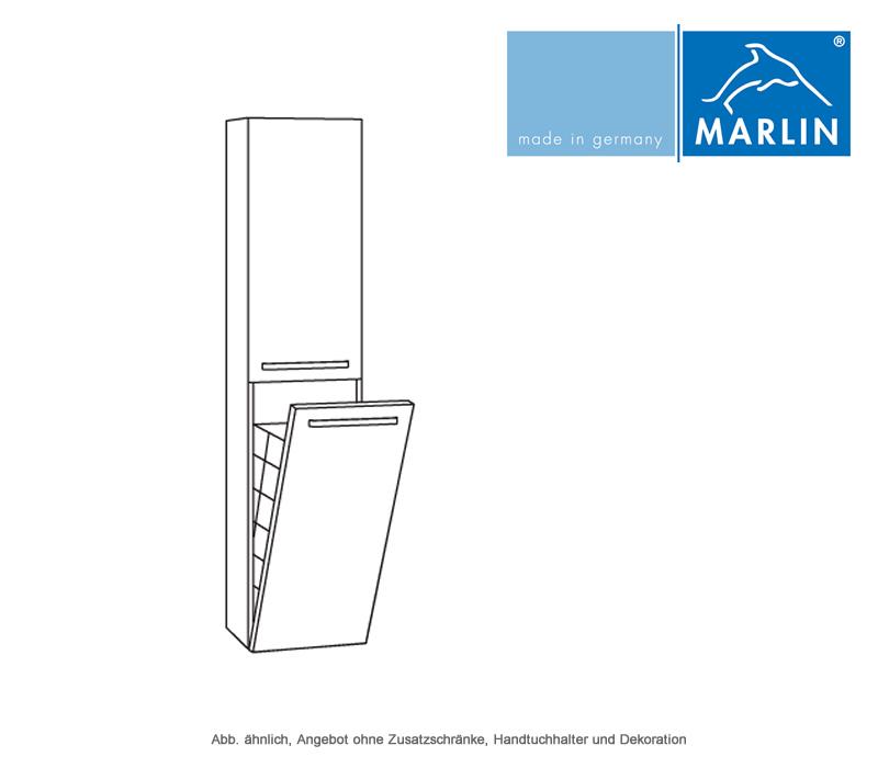 marlin motion hochschrank mit w schekippe 40 cm impulsbad. Black Bedroom Furniture Sets. Home Design Ideas