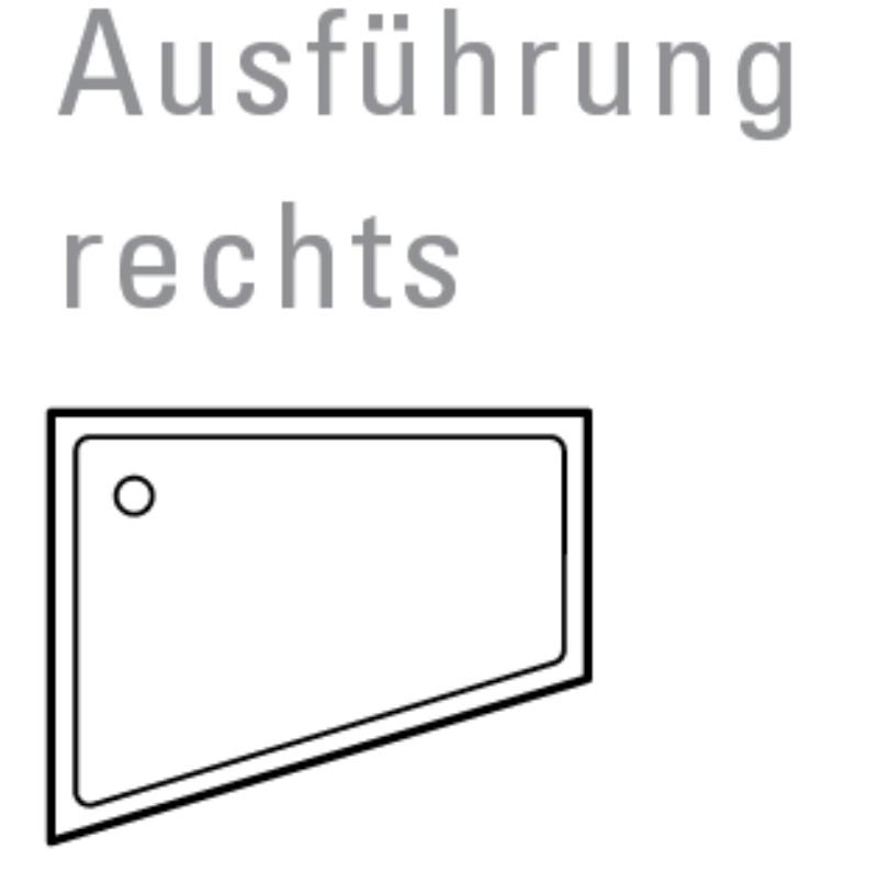 mauersberger duschwanne asyma 100 x 80 cm superflach. Black Bedroom Furniture Sets. Home Design Ideas